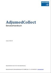 AdjumetCollect usermanuel